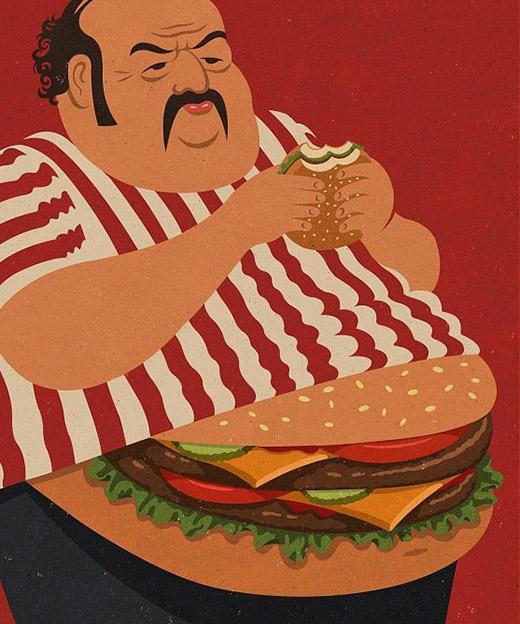 Cơ thể bạn sẽ là hình ảnh chân thực nhất cho thấy những gì bạn đã ăn vào