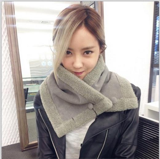 Hyomin khoe hình dịu dàng để chiêu đãi fan