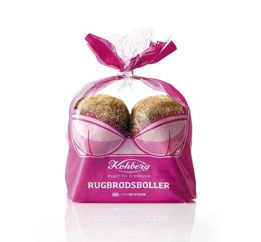 Kohberg, hãng bánh mì lớn nhất ở Đan Mạch, là nhà tài trợ của Hiệp hội Ung thư Đan Mạch tại sự kiện thường niên tuyên truyền chống ung thư vú