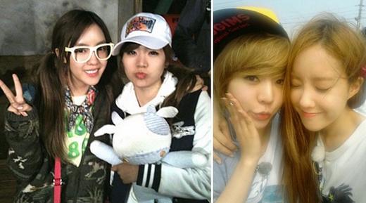 Tình bạn của Sunny và Hyomin bắt đầu từ khi họ cùng tham gia chương trình Invincible Youth. Hyomin vô cùng yêu thích tính trẻ con của Sunny và hai người họ dần dần thân thiết với nhau. Có nhiều người cho rằng họ chỉ chơi theo thời vụ tuy nhiên tình bạn của Hyomin và Sunny vẫn kéo dài đến ngày hôm nay.