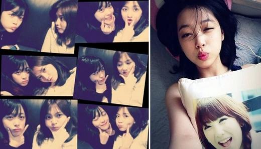 Jiyoung và Sulli được biết đến là cặp đôi 94. Vì họ cùng tuổi nhau, hơn nữa họ còn thân thiết gọi nhau là những người bạn trứng. Trong khi Sulli luôn nói Jiyoung là lồng trắng trứng thì Jiyoung lại gọi Sulli là lòng đỏ bên trong.