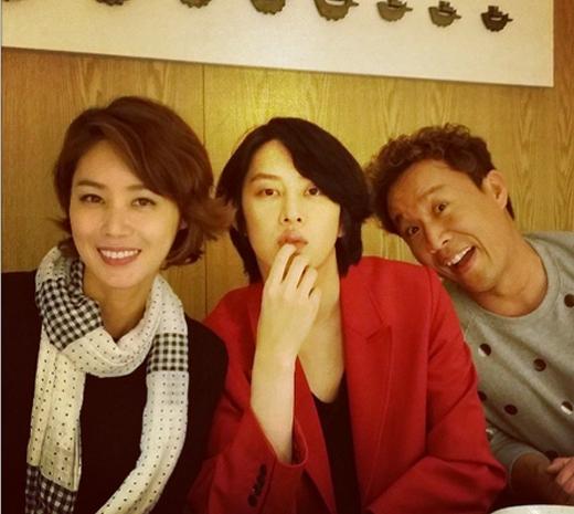 Heechul hào hứng khi được họp mặt với đồng nghiệp