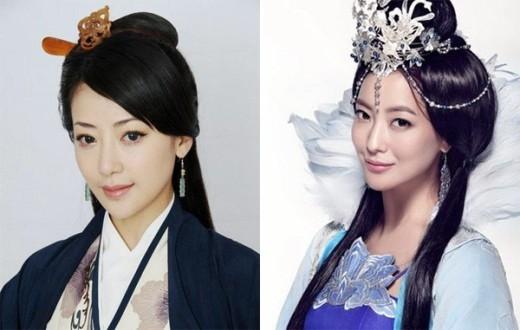Vì có nét mặt hao hao nên nữ diễn viên Trung Quốc Bạch Băng và 'Đệ nhất mỹ nhân xứ Hàn' Kim Hee Sun cùng thể hiện vai công chúa Ngọc Thấu trong 2 phiên bản truyền hình và điện ảnh của bộ phim Thần thoại.