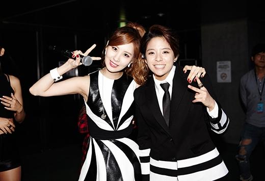 Seohyun và Amber vô cùng thân thiết