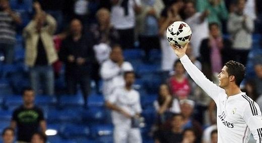 Ronaldo có hiệu suất ghi bàn 'khủng'