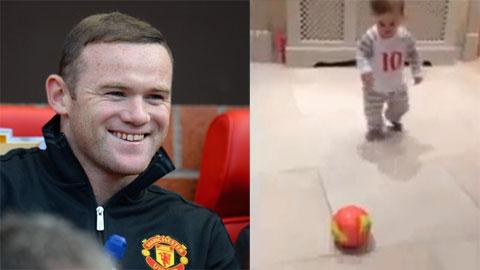 Rooney vui mừng ra mặt vì đã có truyền nhân