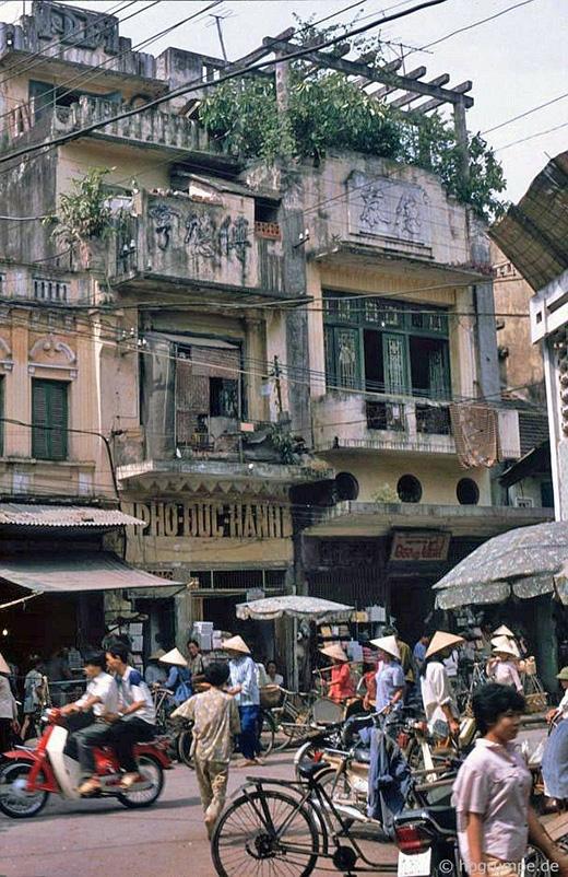 Kiểu dáng nhà ngày xưa hiện nay vẫn còn được lưu giữ lại một số trên những con phố cổ
