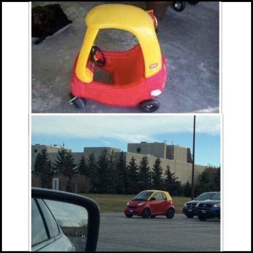 Sơn lại màu chiếc xe cho giống chiếc xe mẹ mua cho khi còn bé...