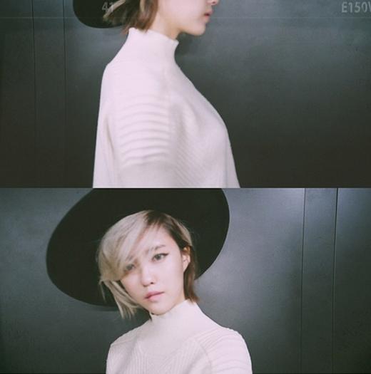 Hyomin lạ lẫm trong hình ảnh hậu trường chụp thời trang