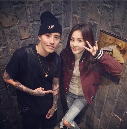 Dara khoe hình trẻ trung chụp cùng người bạn