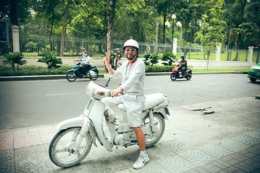 Bức ảnh Bạch công tử Sài Gòn được chia sẻ trên mạng. Ảnh: Humans of Sai Gon