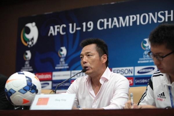 HLV Zheng Xiong tự tin U19 Trung Quốc sẽ dễ dàng đánh bại U19 VN