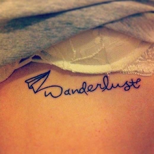 Wanderlust - Một biểu tượng dành cho những cô nàng tín đồ du lịch và yêu thích sự dịch chuyển