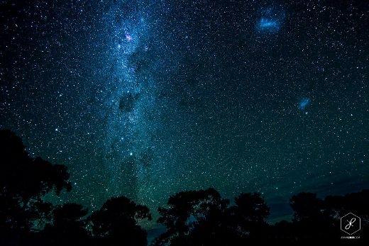 Ngắm bầu trời ở đảoKangaroo