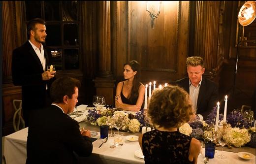 Phát biểu trong bữa tiệc tối ấm cúng, David Beckham nói: 'Đối với Simon Fuller và tôi, đây là một đêm đặc biệt bởi chúng tôi sẽ chính thức đưa dòng sản phẩm Haig Club ra thị trường. Tôi thật sự tự hào khi được trở thành một trong những người đồng sáng lập thương hiệu này! Hãy cùng tôi nâng ly chúc mừng cho 'hạt mầm' mới, cảm ơn những người bạn tốt đã luôn bên cạnh và cùng tôi thực hiện một hành trình phiêu lưu đầy mạo hiểm'.