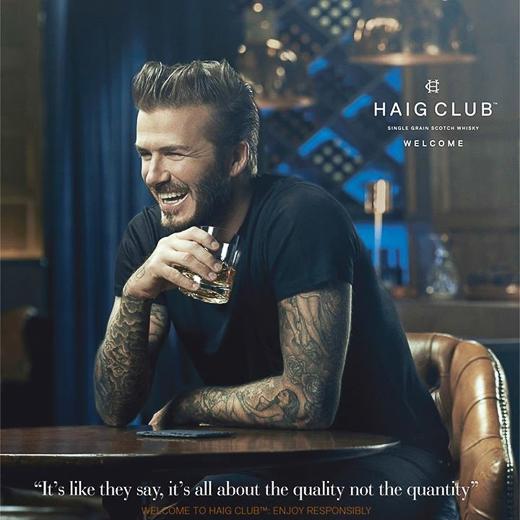 C ũng tại đêm tiệc này, David Beckham hé lộ hình ảnh tấm poster do chính anh làm người mẫu. Ở tuổi 39, vẻ hào hoa của cựu tiền vệ khiến nhiều người ngưỡng mộ.