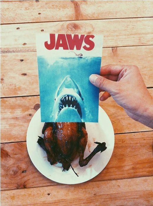 Hàm cá mập hay là hàm gà nướng?