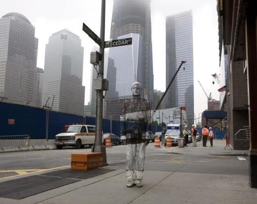 """Tinh mắt tìm """"người tàng hình"""" ẩn mình giữa thành phố"""