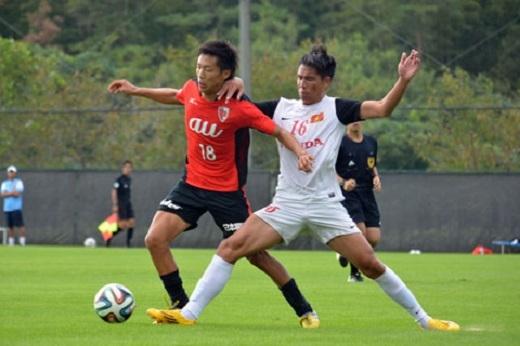 ĐT Việt Nam đang tập huấn tại Nhật