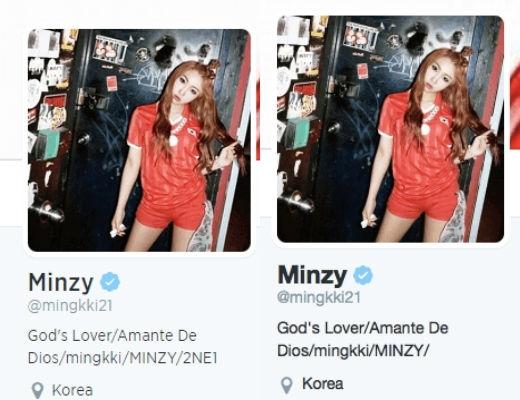 Sự thay đổi trên trang cá nhân của Minzy khiến fan hoang mang