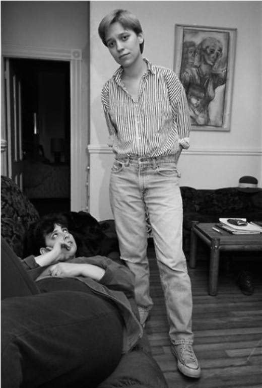 Stephanie và Monica, Boston, 1987