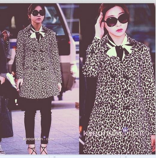 Minzy xinh đẹp và phong cách tại sân bay, cô nàng vô cùng háo hức lên đường sang Macau tham dự concert