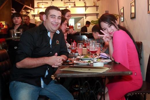 Diễn viên Diễm Hằng và bạn trai