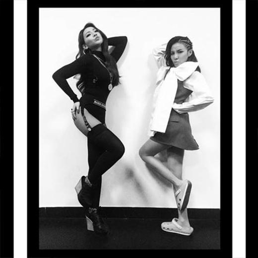 CL khoe hình đọ dáng cùng 'thần tượng không tuổi' Dara