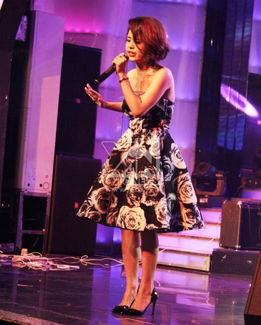 Thái Trinh từng là khách mời của Tập 5 với thử thách phỏng vấn người nổi tiếng
