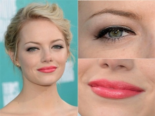 6 kiểu make-up dự tiệc sao ưa chuộng