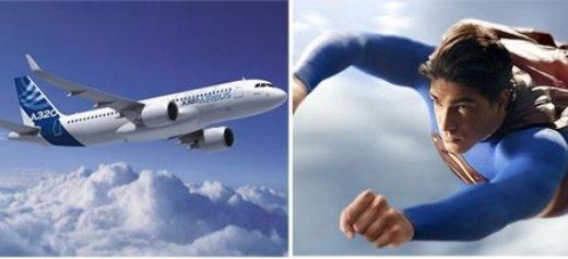 Người đàn ông bí ẩn bay lướt qua phi cơ Airbus 320 được đặt biệt danh là 'Siêu nhân của Macclesfield'. Ảnh minh họa: Daily Mail