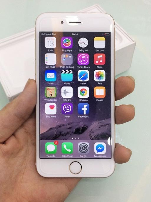 Là chiếc iPhone 6 phiên bản dung lượng cao nhất cùng với họa tiết rồng, sản phẩm trở thành món đồ hấp dẫn cho những người hâm mộ Apple hay iPhone.