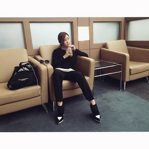 Hyomin hào hứng khi lên đường sang Bắc Kinh để tham gia chương trình Korean Music Wave