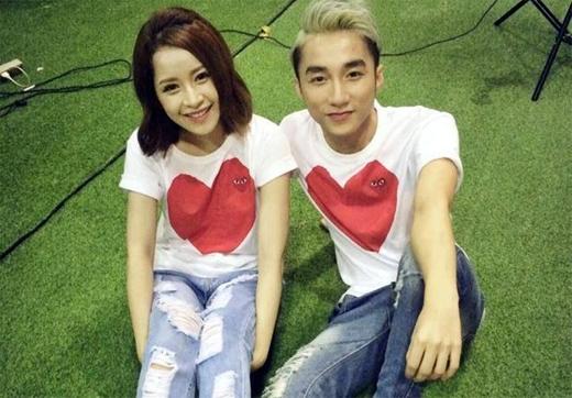 Chi Pu và Sơn Tùng M-TP xuất hiện tình cảm cùng nhau trong một dự án đầu năm 2014