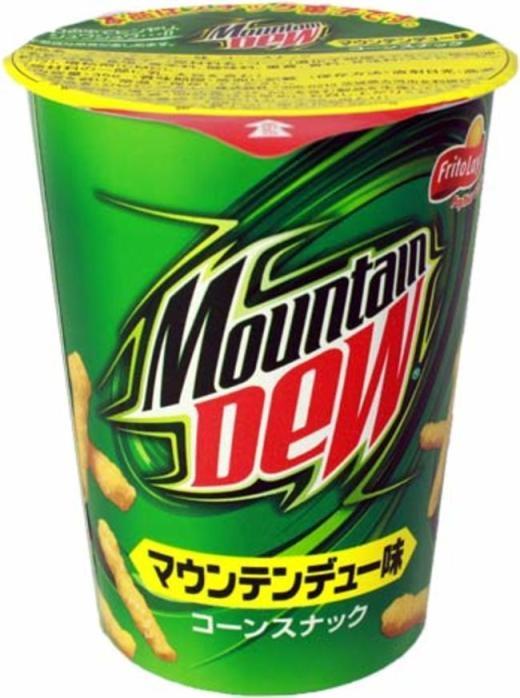 Bánh snack vị Mountain Dew