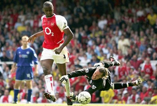 Với Vieira, Arsenal có một đội trưởng đầy bản lĩnh