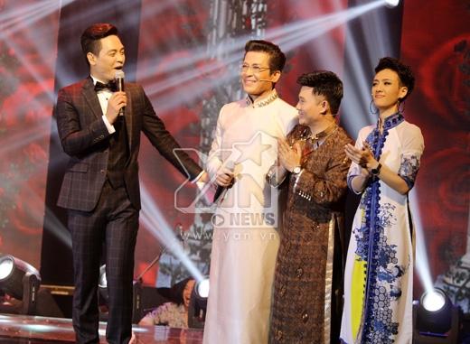 Bất ngờ lớn trong chương trình chính là 3 vị giám khảo đã rất cố gắng với vai trò lần đầu tiên này của mình. Và có lẽ điểm trừ duy nhất của Cặp đôi đêm này chính là MC Phan Anh