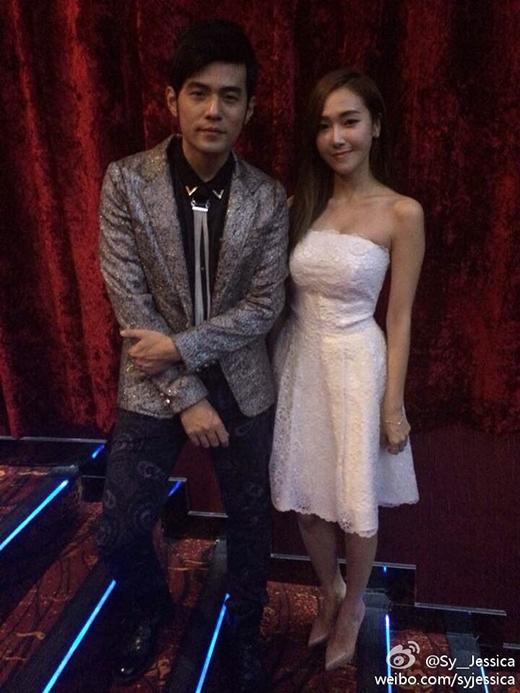 Jessica và ông hoàng C-pop Châu Kiệt Luân