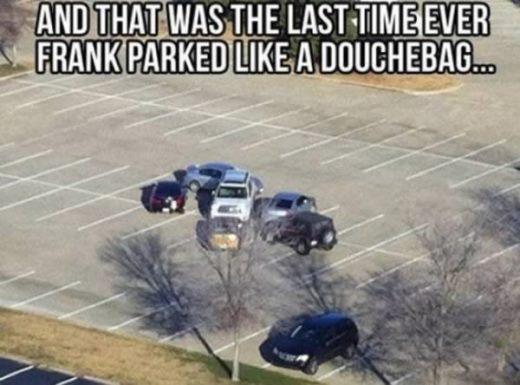 Lại một bài học dành cho việc đậu xe đúng nơi quy định