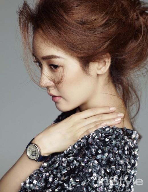 Sung Yuri đẹp ngỡ ngàng trên  tạp chí In Style tháng 11