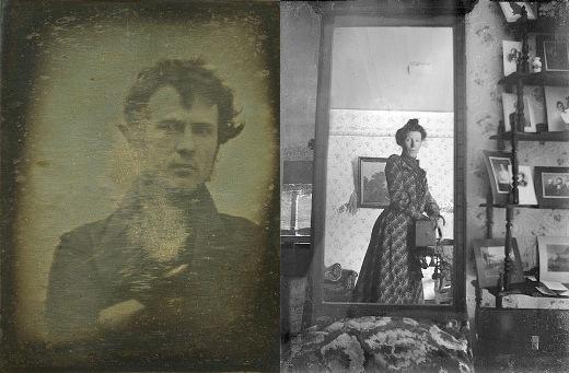 Một trong những bức hình selfie đầu tiên trong lịch sử