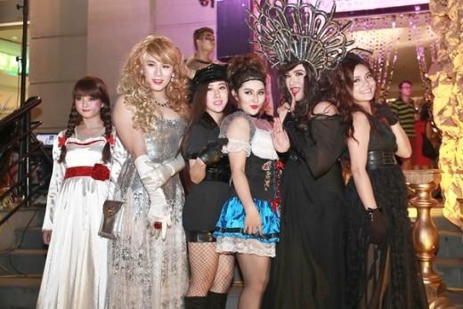 Minh Quân, Bảo Trâm cùng hóa thân thành các nhân vật yêu thích để đi dự tiệc Halloween - Tin sao Viet - Tin tuc sao Viet - Scandal sao Viet - Tin tuc cua Sao - Tin cua Sao