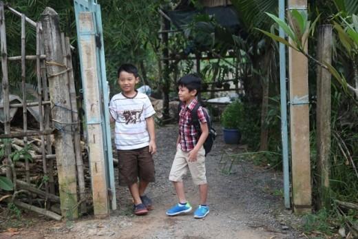 Sao Việt khổ vì con trong Bố ơi! Mình đi đâu thế? phiên bản Việt