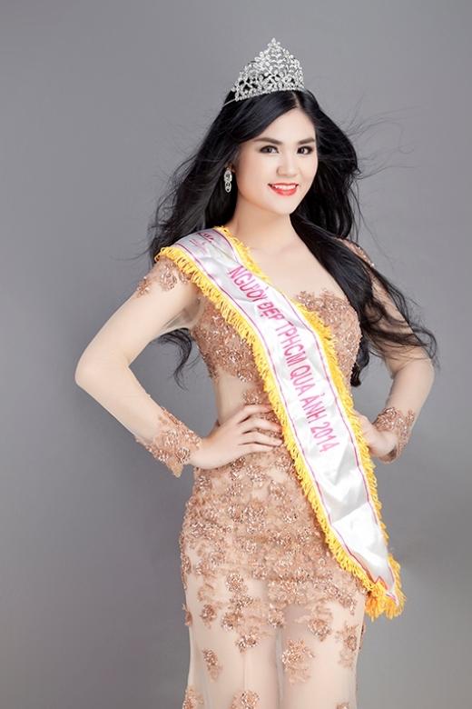 Hoa khôi Quỳnh Đăng - người kế nhiệm xuất sắc của Hoa hậu Lý Thu Thảo