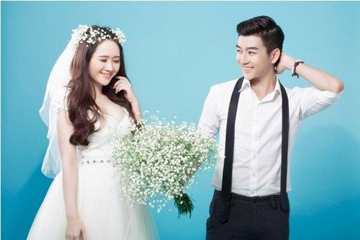 Lộ ảnh cưới Nam Hee và Ngọc Anh?