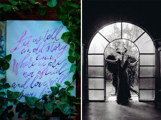 Cực chất đám cưới với phong cách Tiên hắc ám Maleficent