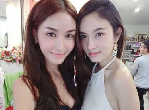 Lingling (bên trái) và Nong Poy (bên phải)