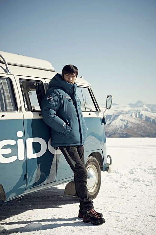Lee Min Ho cực điển trai trên sân trượt tuyết