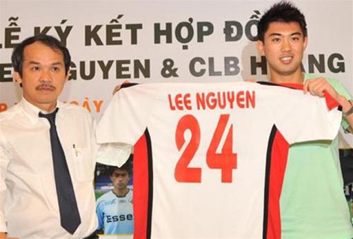Lee Nguyễn không thành công khi thi đấu ở Việt Nam