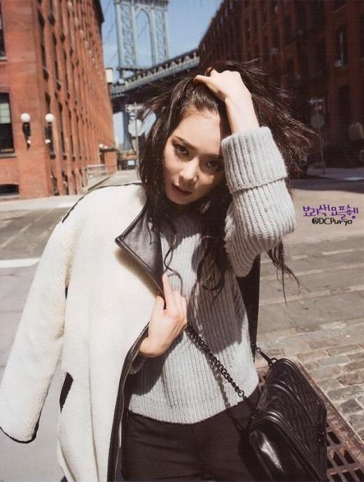 Hyuna quyến rũ trên đường phố New York